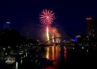 New Year's Eve, Yarra River, 2008, Melbourne