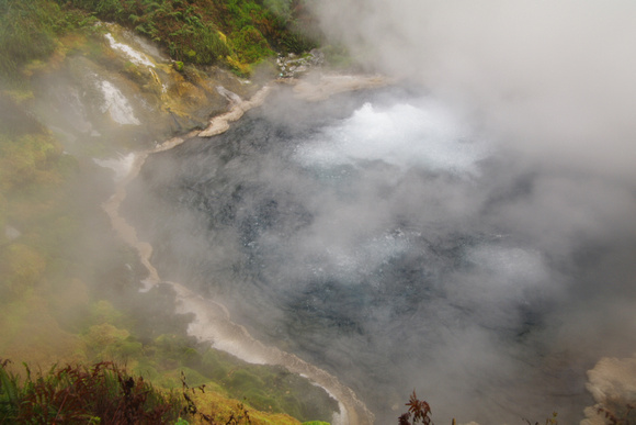 Waikite Valley Thermal Pools: hot water spring